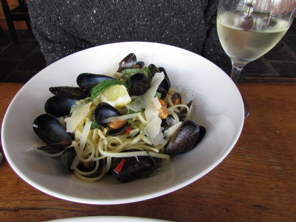 Housemade pasta with Bantry Bay mussels